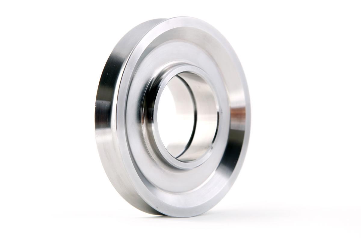 POLEA TRAPECIAL, mecanizado en aluminio