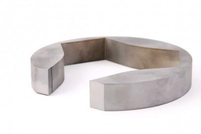 Pièces en aluminium usinées et coupe à fil